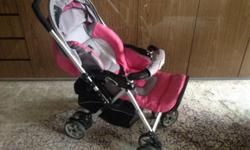 Selling foldable Capella stroller in good used