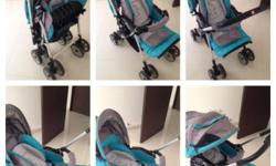 Capella stroller Reversible handle, one hand folding,