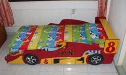 Car Bed with Mattress in excellent condition.