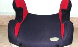 car booster seat $20 (red/blue) very good