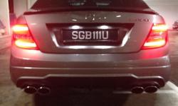 Car plate for sale SGB111U