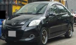 BLACK TOYOTA VIOS 1.5[A] SPORTS -FACE LIFTED MODEL