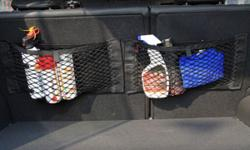 Car Resilient Double Layer Mesh Net Storage Net String