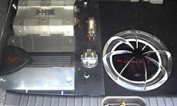 Dark helix amp with soundsteam component speakers ,