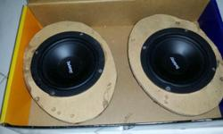 Twister Car Speakers for Sale - In working condition..