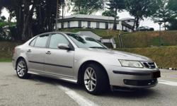 VERY AFFORDABLE $XX.00 2L SAAB 9-3 turbocharged sedan