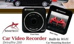 Car Video Recorder - 2014 Built-in Wi-Fi * 1080P Full