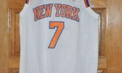 Carmelo Anthony and other NBA jerseys and shorts for