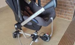 2in1 combo with MaxiCosi CabrioFix as car seat can be