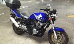 Stock Bike vtec1 (Blue) but very responsive engine,