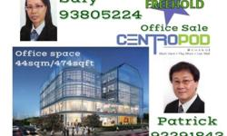 New project Just TOP Office for Sale / Rent CentroPod @