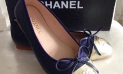 New Chanel Dual tone ballerina. Replica and made from