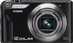 Casio Exilim Digital Camera 14.1 Megapixels 8GB Memory