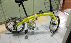 hi there!! i am selling my hardly use folding bike for