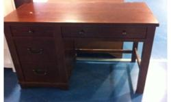 **CHEAP STUDY DESK (WALNUT COLOUR) FOR SALES !**