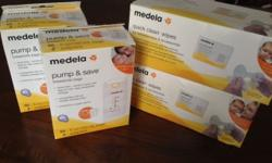 I am selling following brand new items: Medela Pump &
