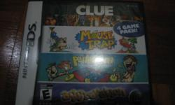 Hi Cheap NDS 4 game set -Clue,Mouse