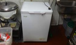 chest freezer still in good condition interested please