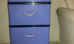 plastic chest of drawers for sale@35$
