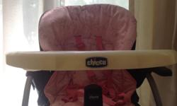 Chicco High Chair as good as new since baby never sat