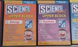 Science Upper Block CD Rom, Chinese vocabulary builder