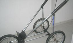 "Baby Jogger ii-16 is intact ( wheel size is 16""; with"