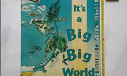 Atlas for kids. It's a big big world, with many