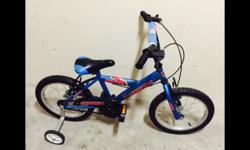 "Children Bicycle for sale 16"" well maintained."