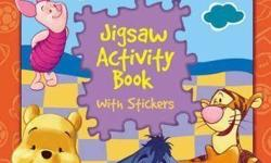 Jigsaw Activity Book (for ages 3+) Number of puzzles: