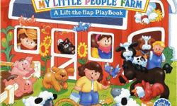 Very good condition. Almost new My Little People Farm