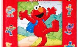 Sesame Street: Elmo's Seasons (My First Puzzle Book