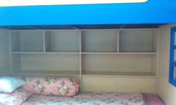 Children Bunk Bed / Double bed with climbing stairs &