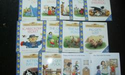Usborne Farmyard Tales Readers Selling As Is shown good