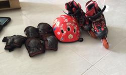 Children's skating shoes (size 1 for children aged 5 to