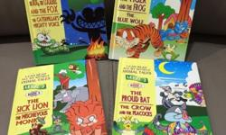 1 set of 4 storybooks (level 2 - Early Readers) Size: