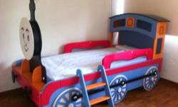 Indulge your little one with this Thomas lookalike bed.
