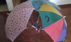 Each umbrella cost $3/- For children 2 yrs to 6 yrs