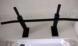 Have a used chin up bar for sale. Good condition. No