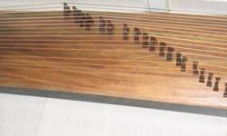 Guzheng 21-string with hard casing Please provide own