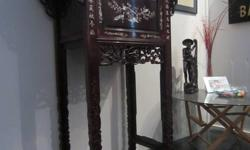 1 x Antique Chinese Rosewood Altar in perfect