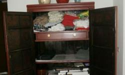 Chinese Wedding Cabinet - with a lot of good storage -