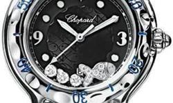 Chopard Happy Fish Pre owned - Black Dial - 3 Floating