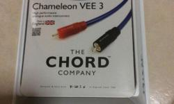 Selling Chord Co. Interconnect cable and PowerChord