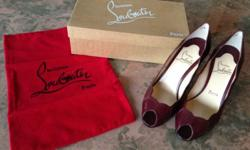 Brand: Christian Louboutin Description: RL401 Prugna
