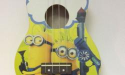 Minion Ukulele At $99 With Bag N Pick For enquiries,