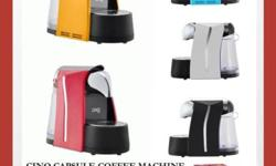 Cino Capsule Coffee Machine Warranty is 1 year! Special