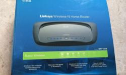 CISCO linksys wireless-N home router,model