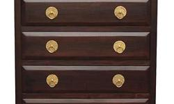 Classic and Minimalist Teak Chest of Drawers, tall boy