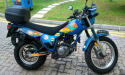 Original and stock yamaha tw200 for sale. It is an