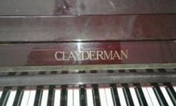 CLAYDERMAN Upright Piano (Good Condition) Branded